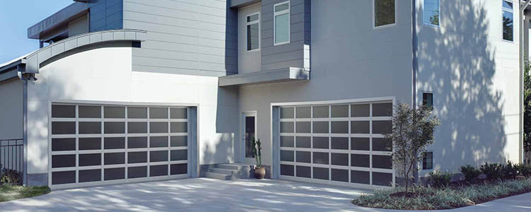modern garage door elevation